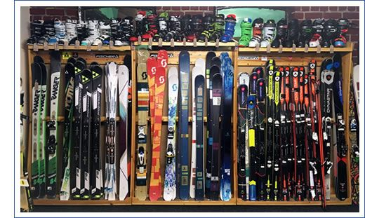 Bennets winter Sports Ski shop Barnsley, South Yorkshire.